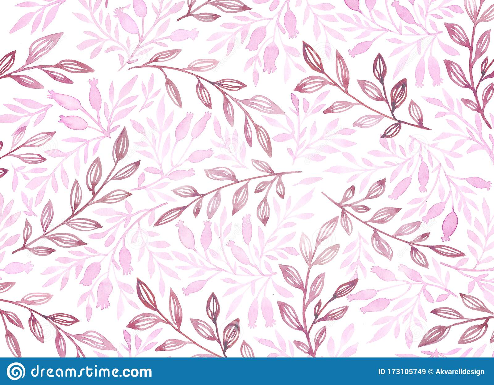 watercolor floral background branches in pastel purple colours vintage background hand painted botanical illustration stock illustration illustration of branch purple 173105749 dreamstime com