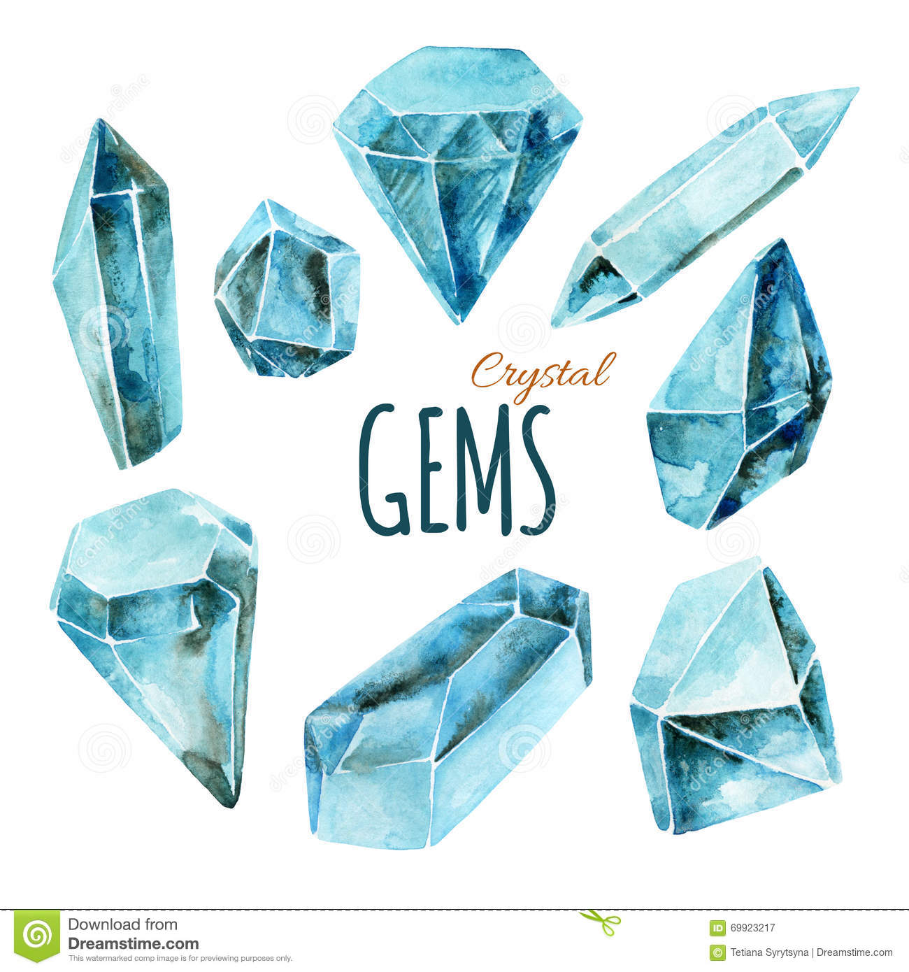 how to draw your own crystal gem