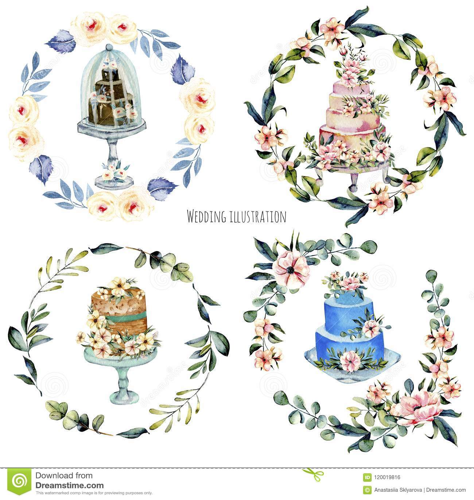 Nice Holiday Wedding Cakes Gallery - Wedding Idea 2018 ...