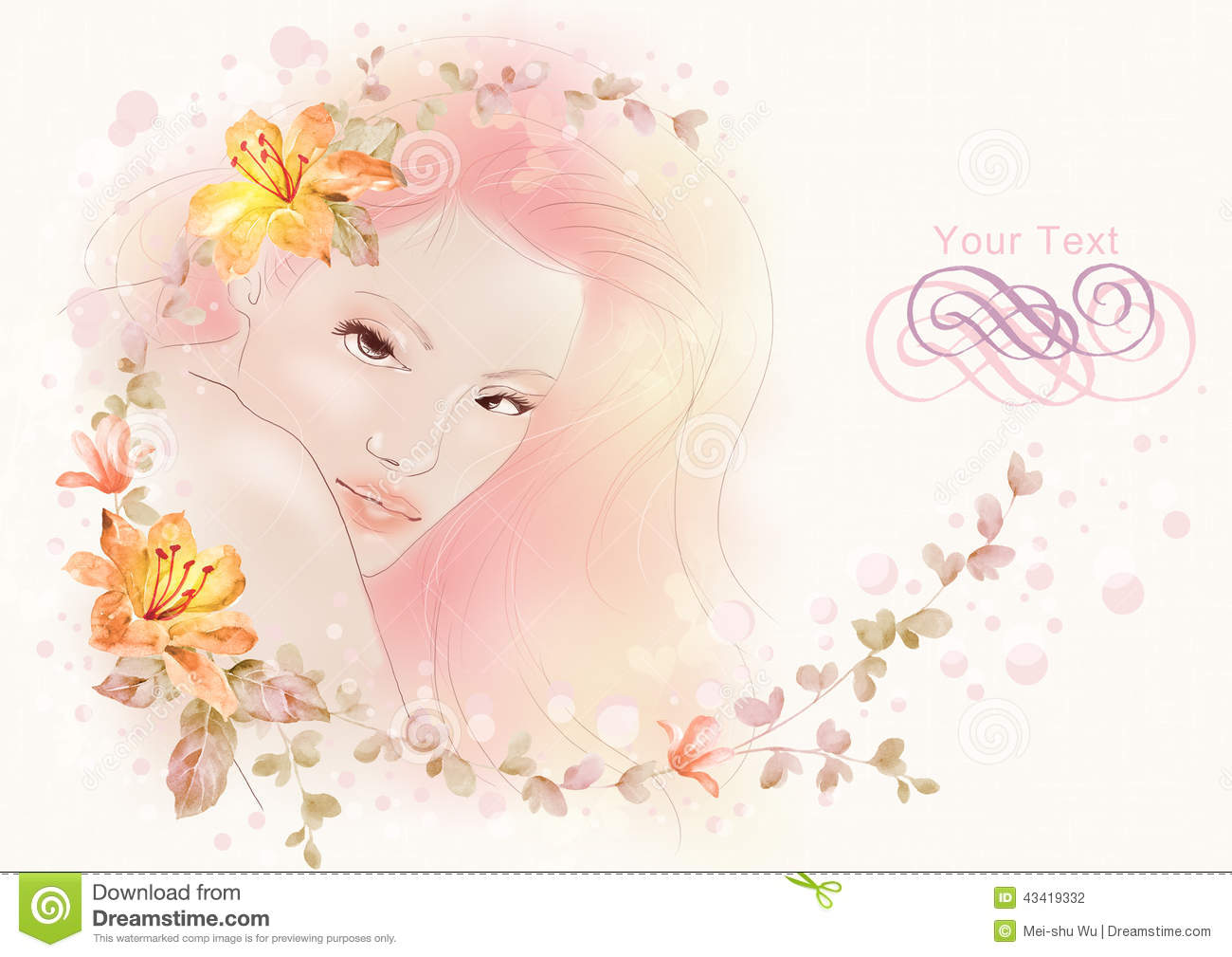 Watercolor Illustration Flowers And Portrait Of Beautiful Woman In Simple Background Stock Illustration Illustration Of Flower Elegant 43419332,Fractal Design Meshify C Build