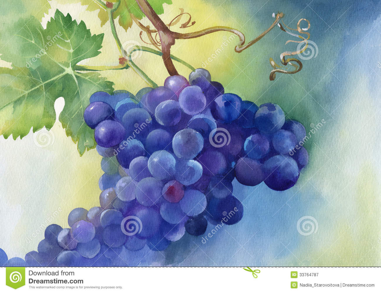 How To Paint Grapes With Acrylic