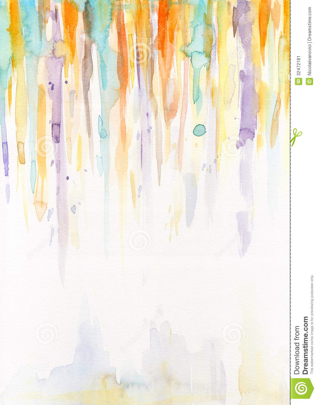 Watercolor Lines Stock Image - Image: 32472181