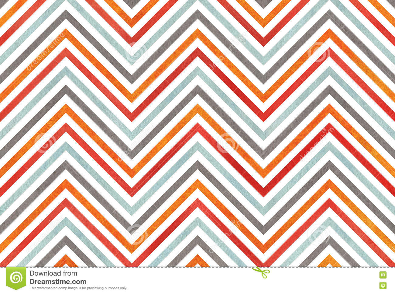 Red and grey chevron background