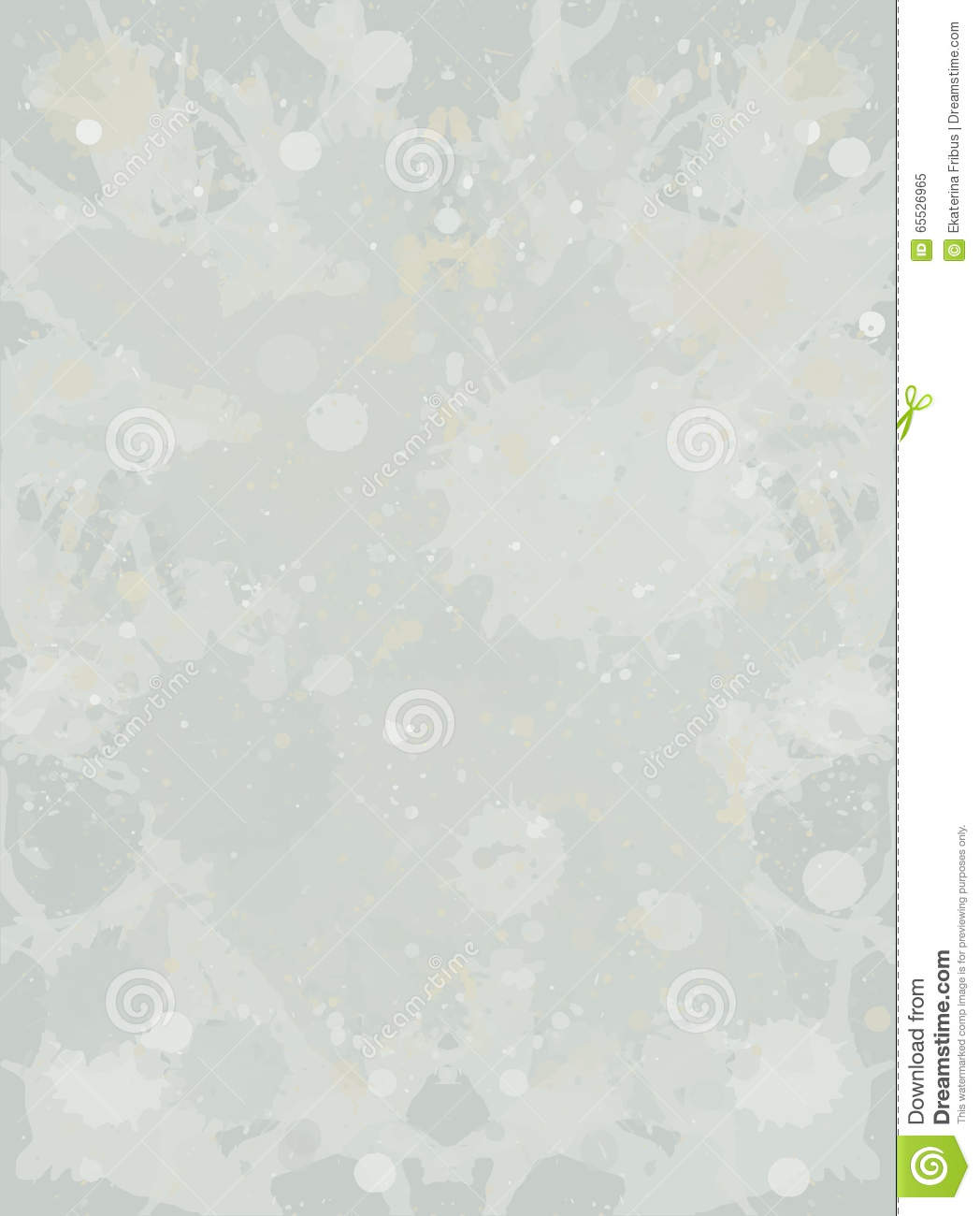 Watercolor paint splashes background stock vector image for Light neutral grey paint