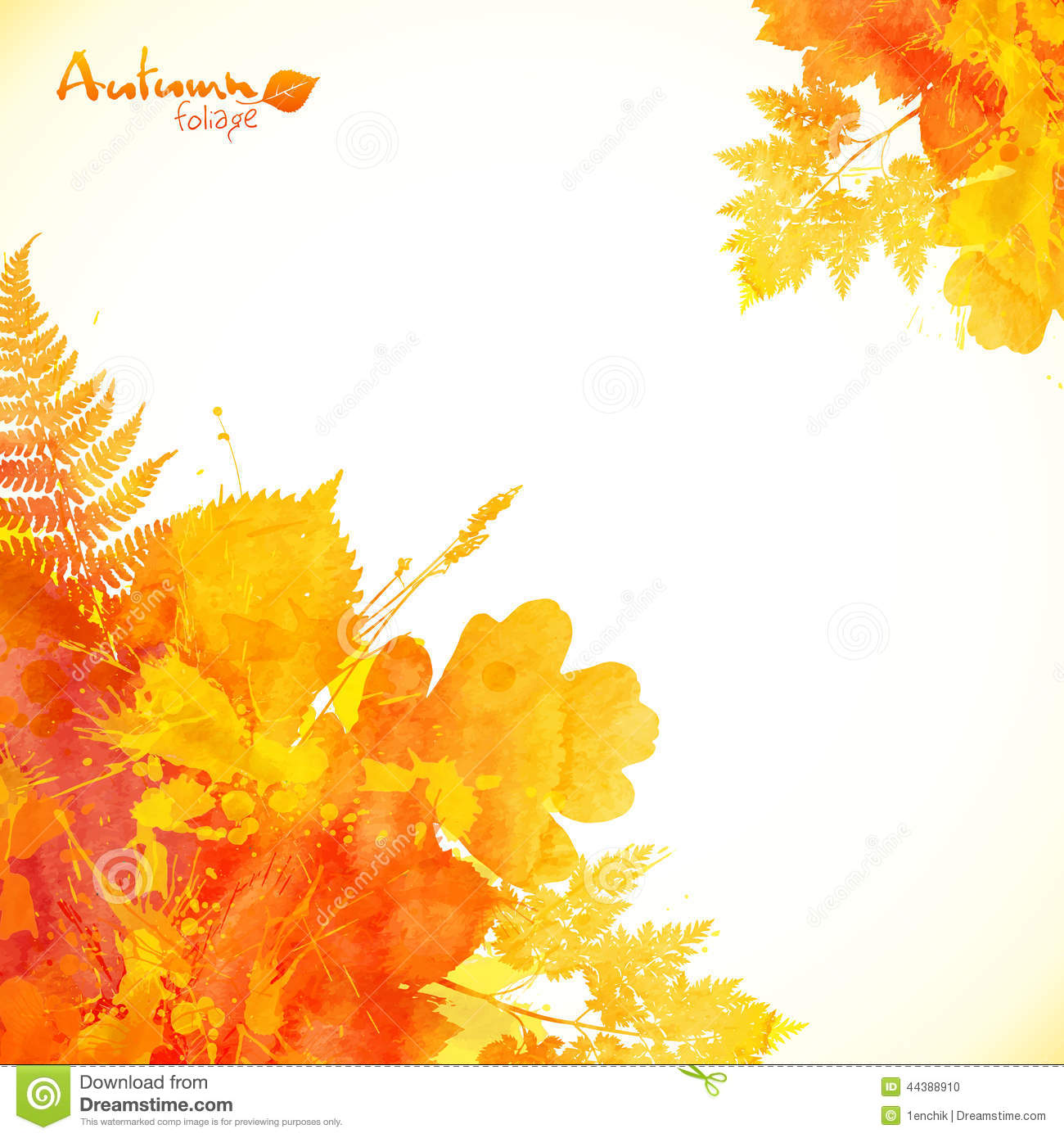 Watercolor Painting My Way! Autumn Leaves L15  WetCanvas