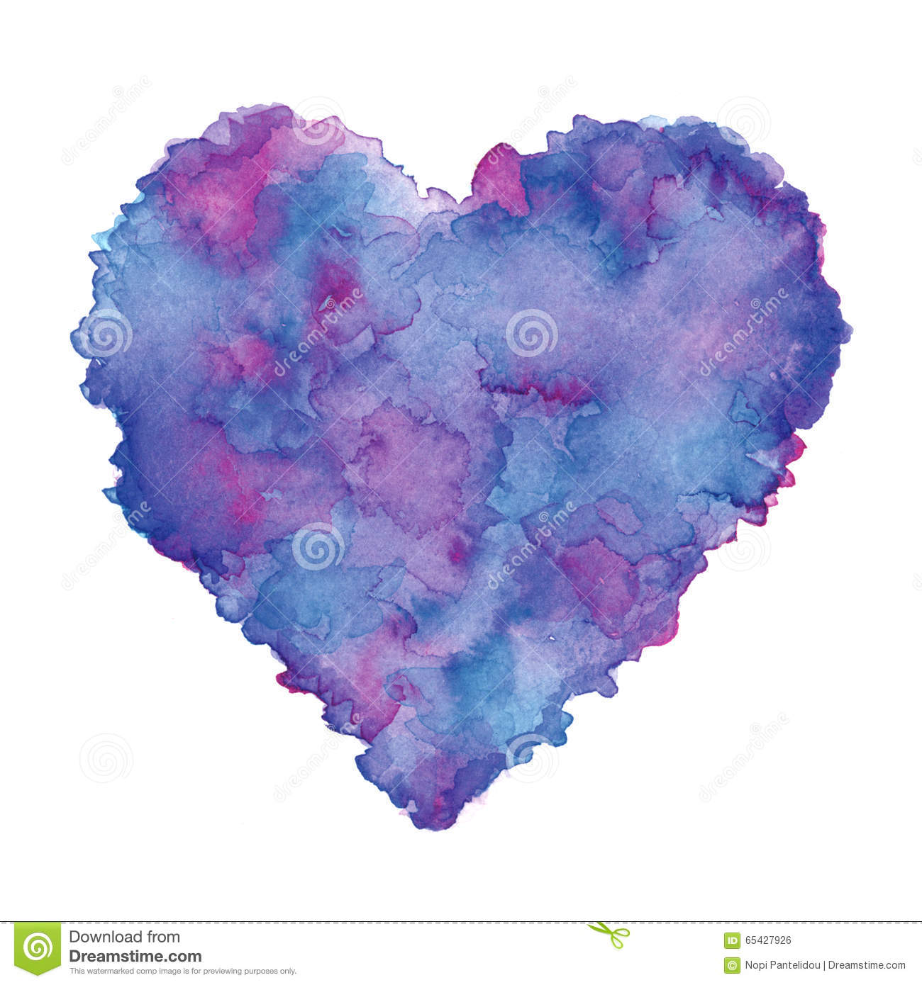 Clip Art Purple Heart Clip Art watercolor painted purple heart clip art element for your designs designs