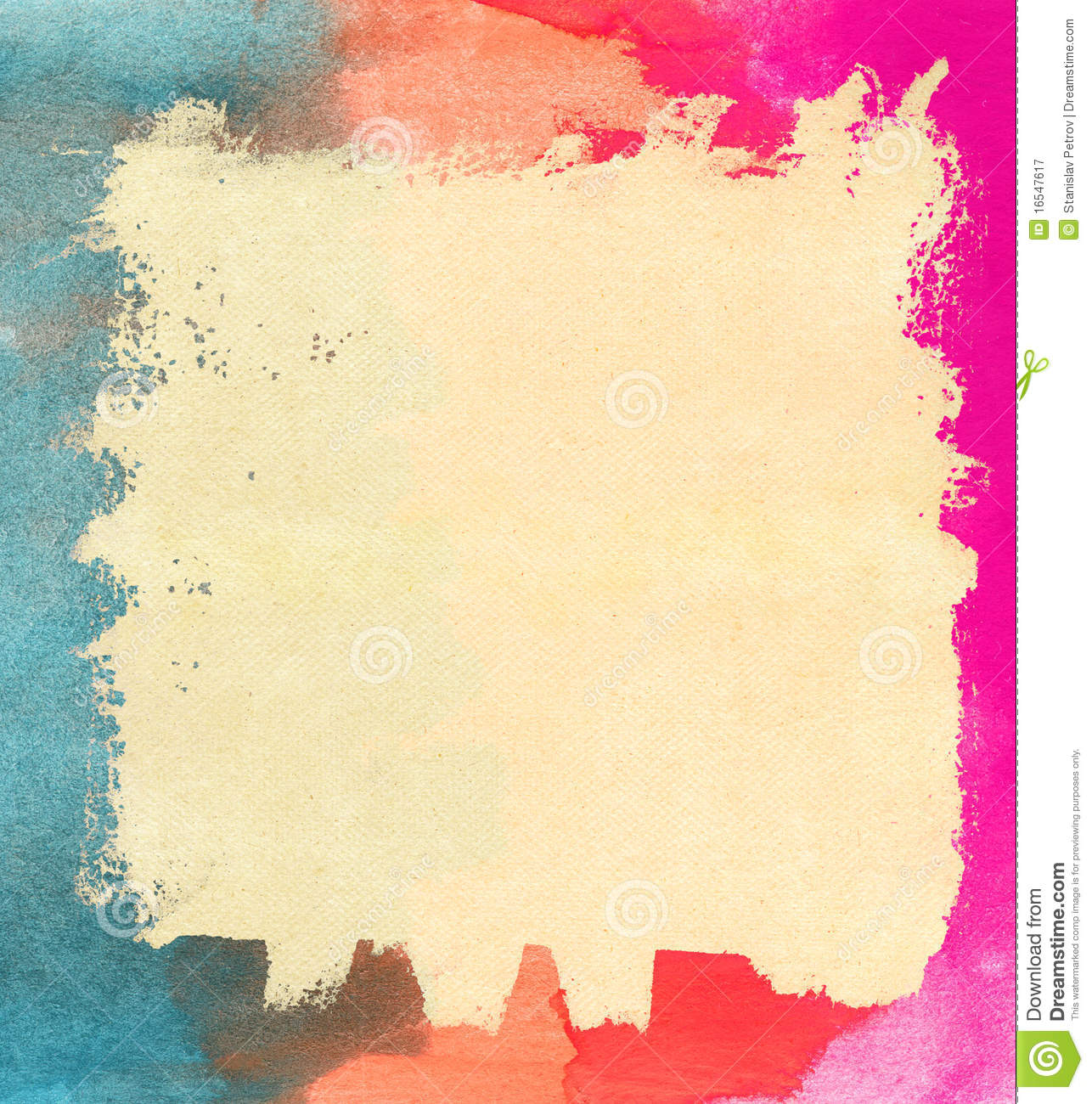 Watercolor Paper Texture Royalty Free Stock Photography ...
