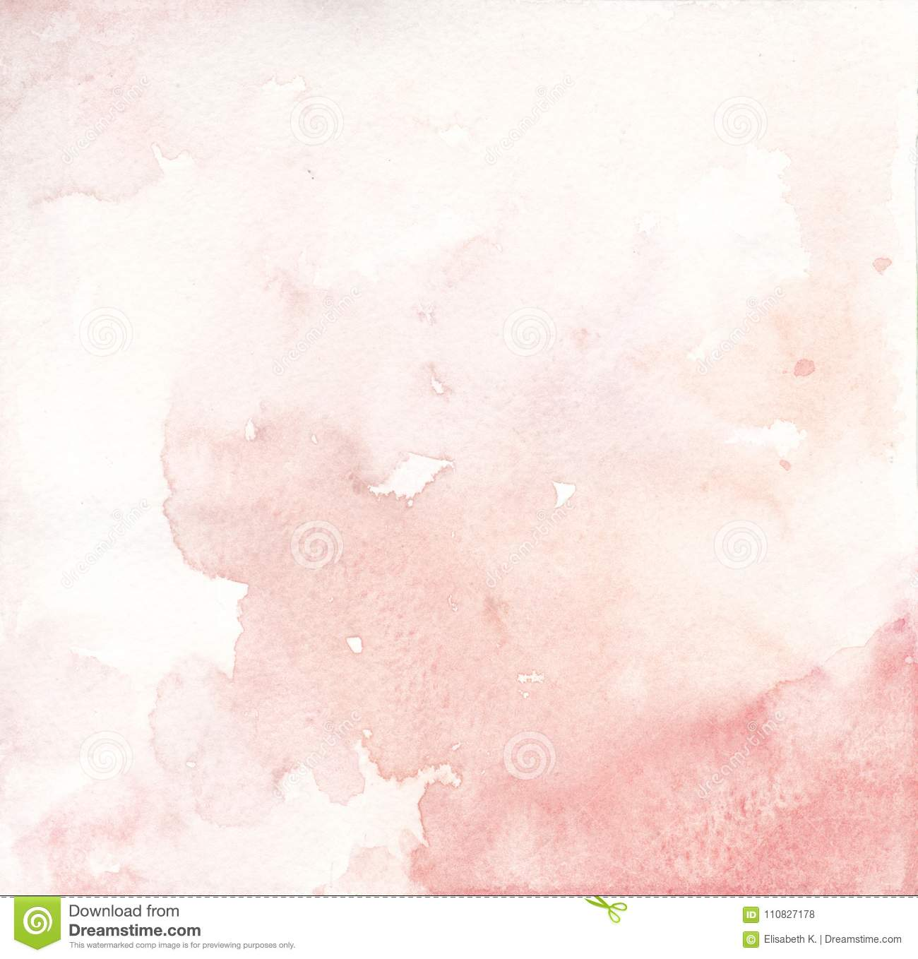 Watercolor pink salmon and coral background texture