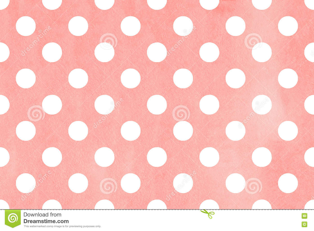 watercolor polka dot background stock illustration illustration