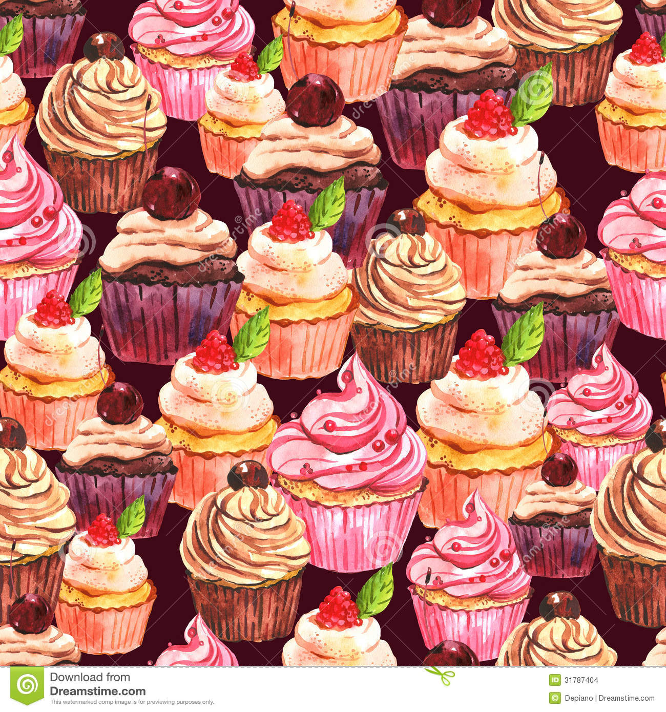 vintage cupcake wallpaper - photo #9
