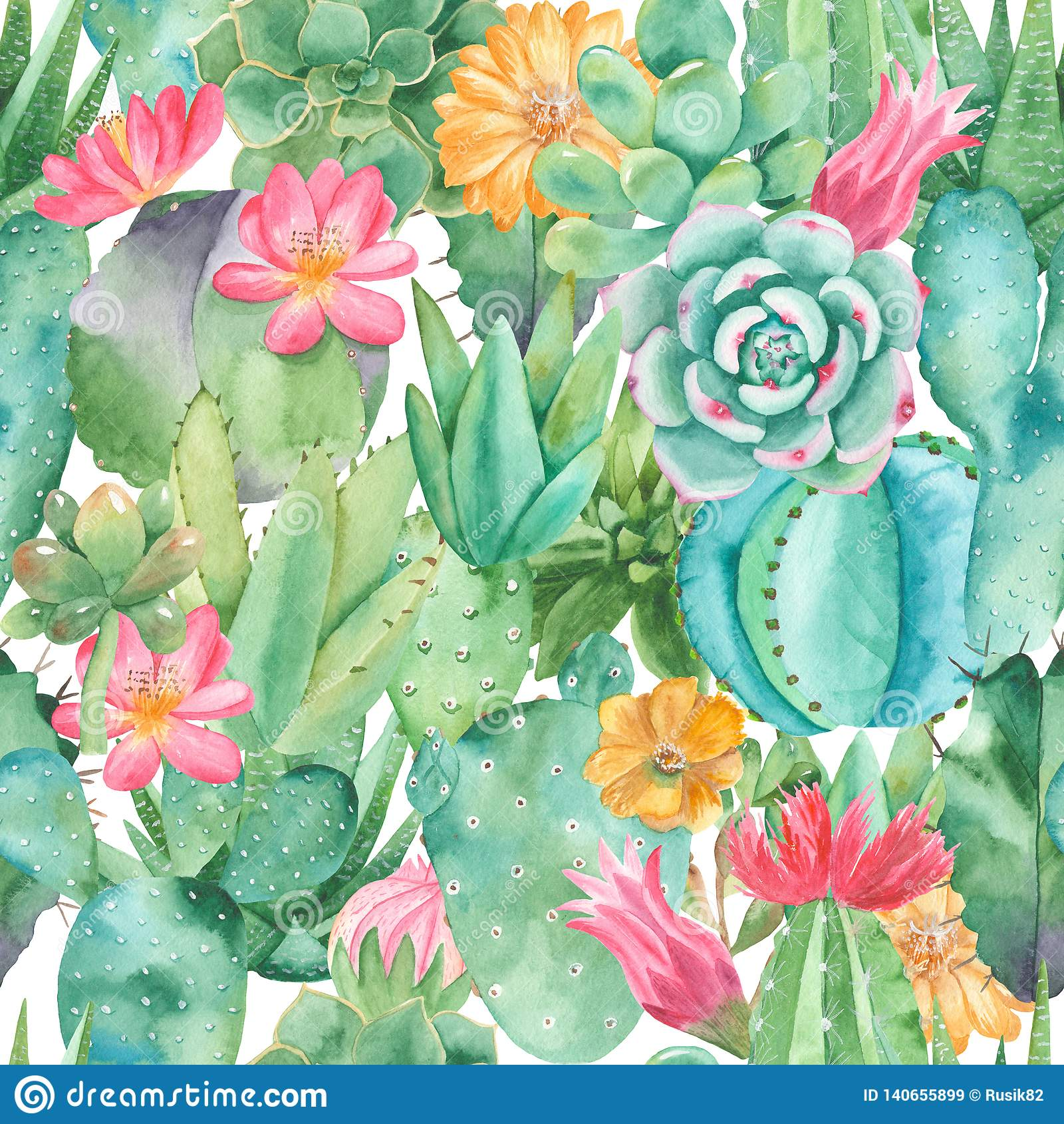 Watercolor Succulents Stock Illustrations 4 130 Watercolor Succulents Stock Illustrations Vectors Clipart Dreamstime