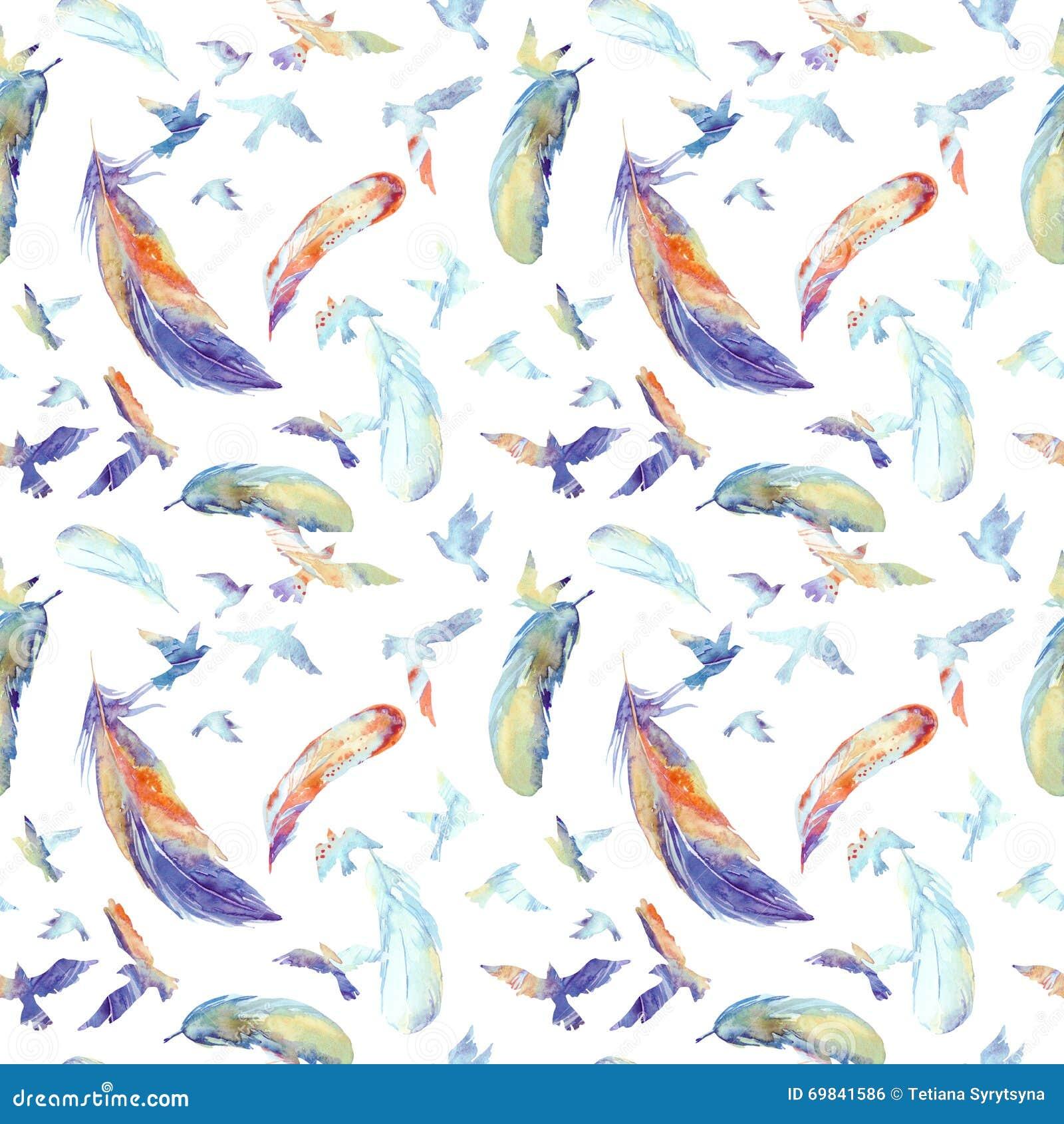 Blue Marble Polka Dot Watercolor Pattern Royalty Free