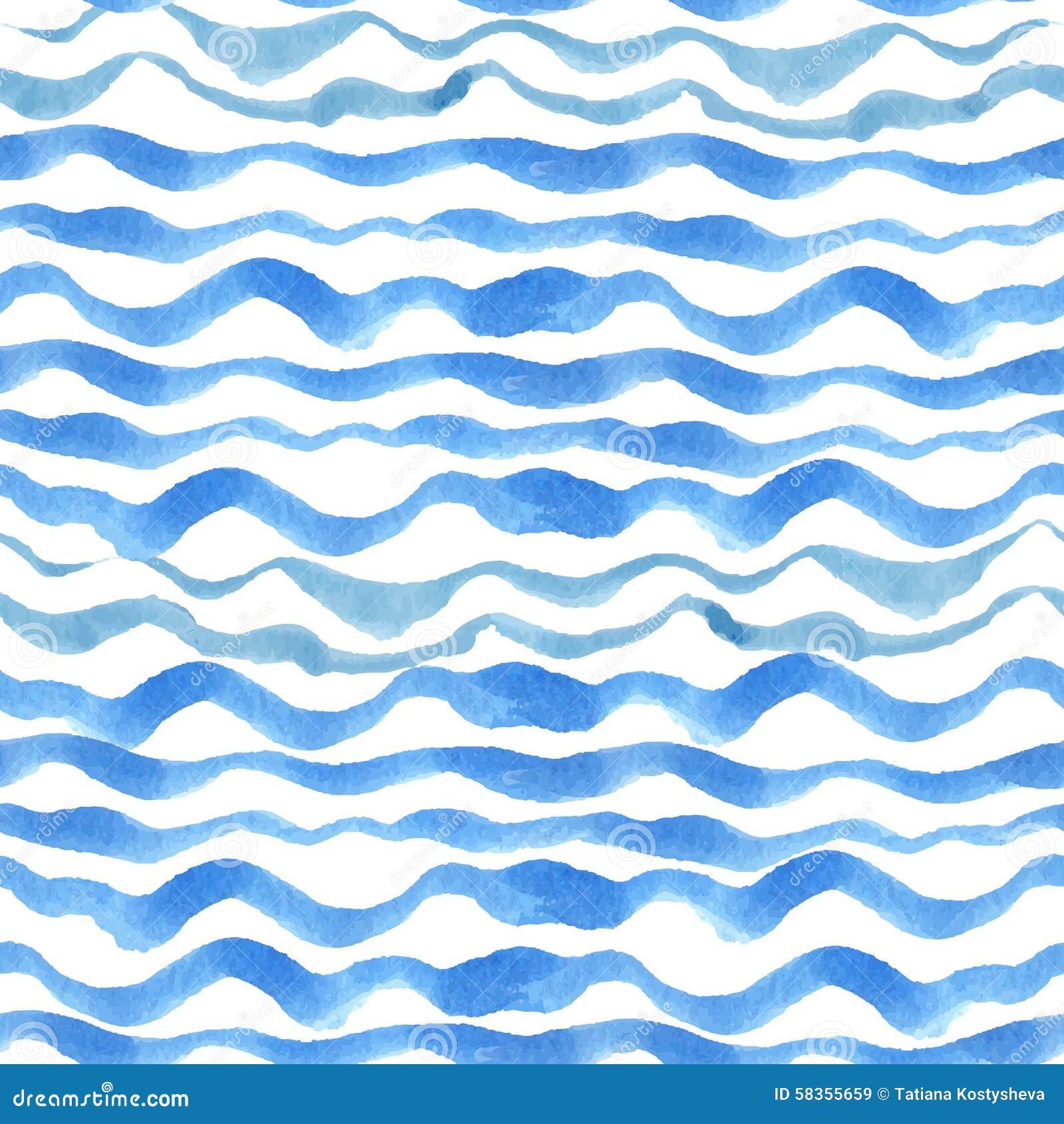Watercolor Strips Seam...