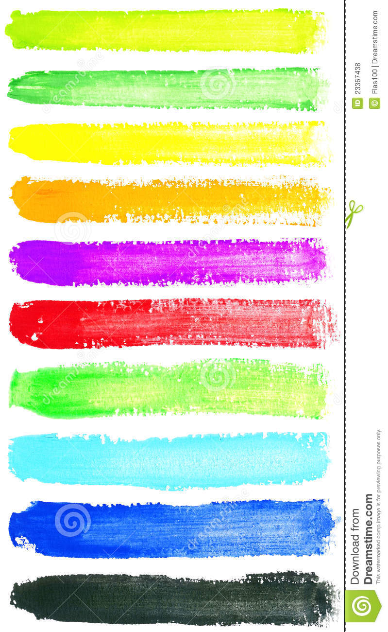 watercolor strokes stock photo image of paint pattern