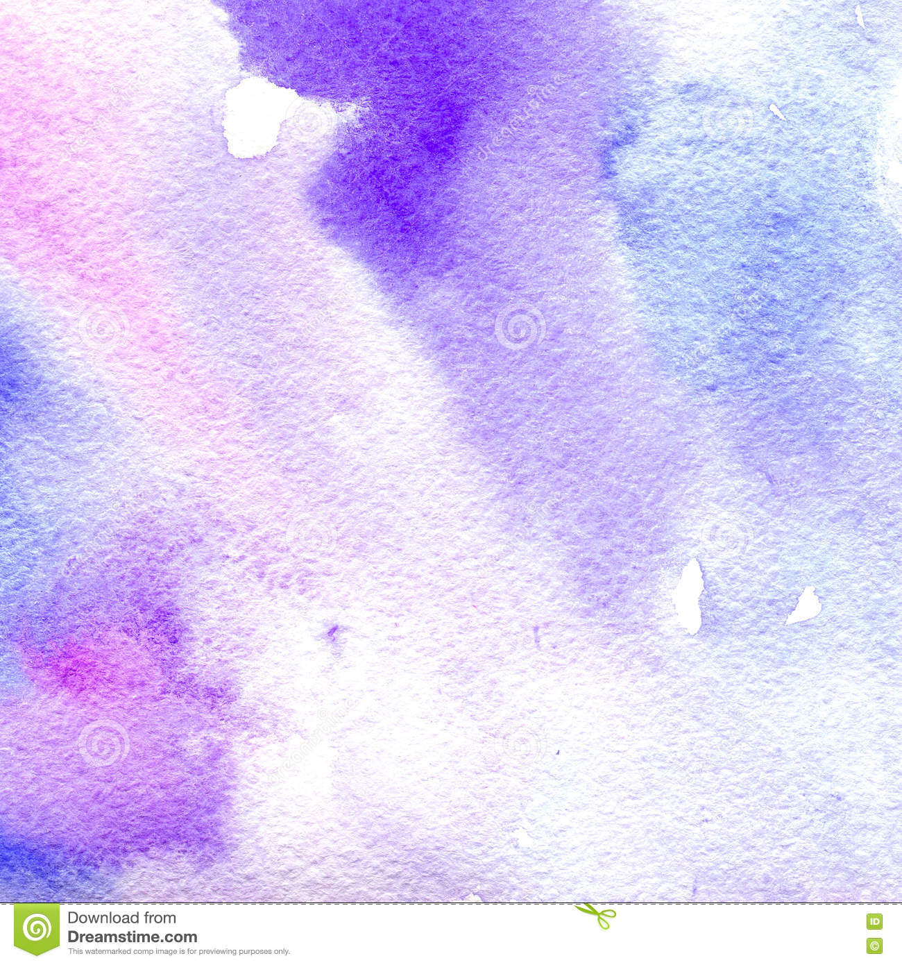 Watercolor Texture Transparent Pink Blue And Purple