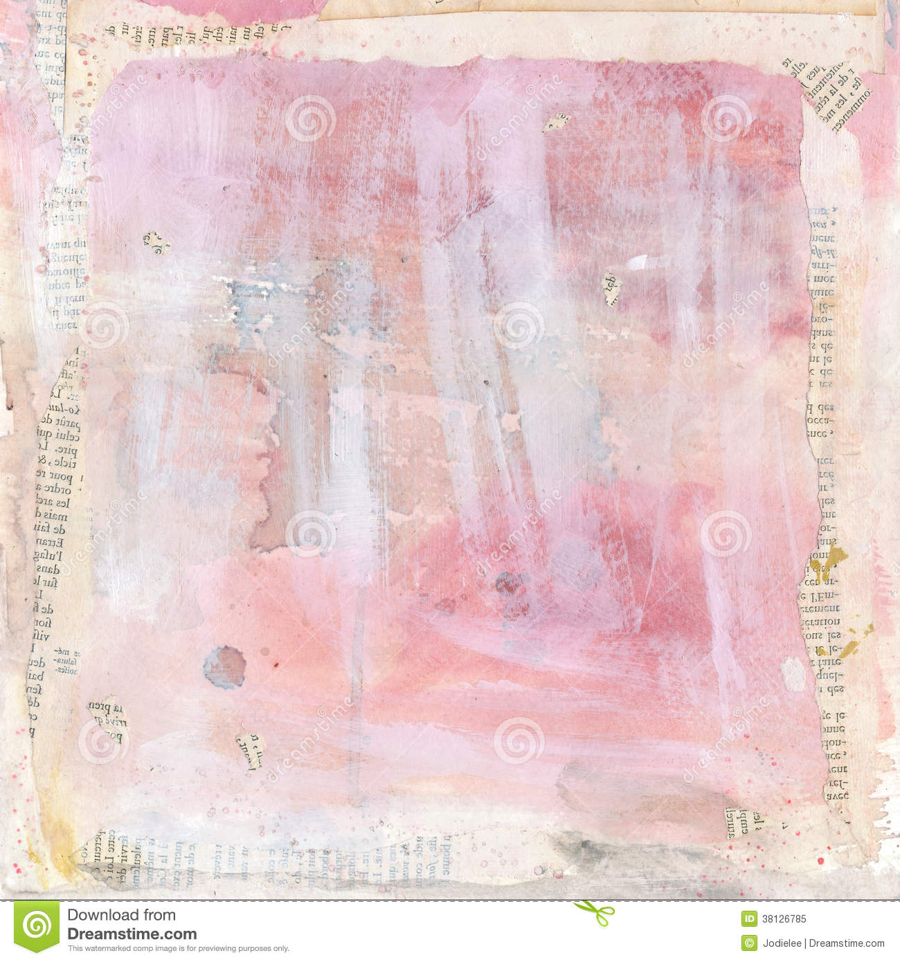 Collage Colour And Texture In Painting