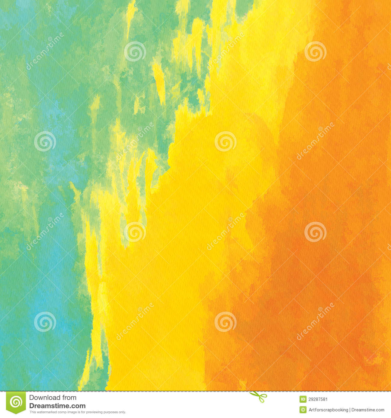 Watercolor Textured Background Scrapbook Paper Stock Image Image 29287581