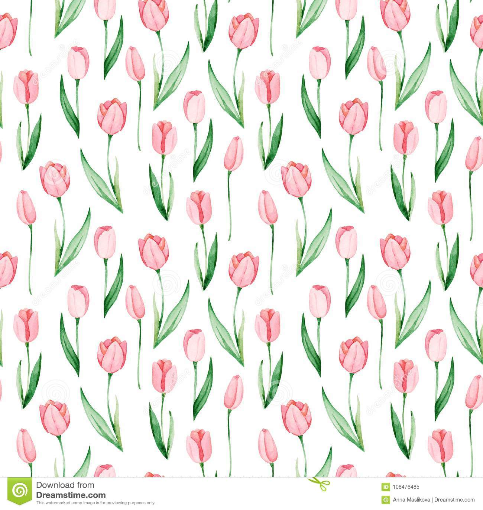 Tulip Print Botanical Prints Shop