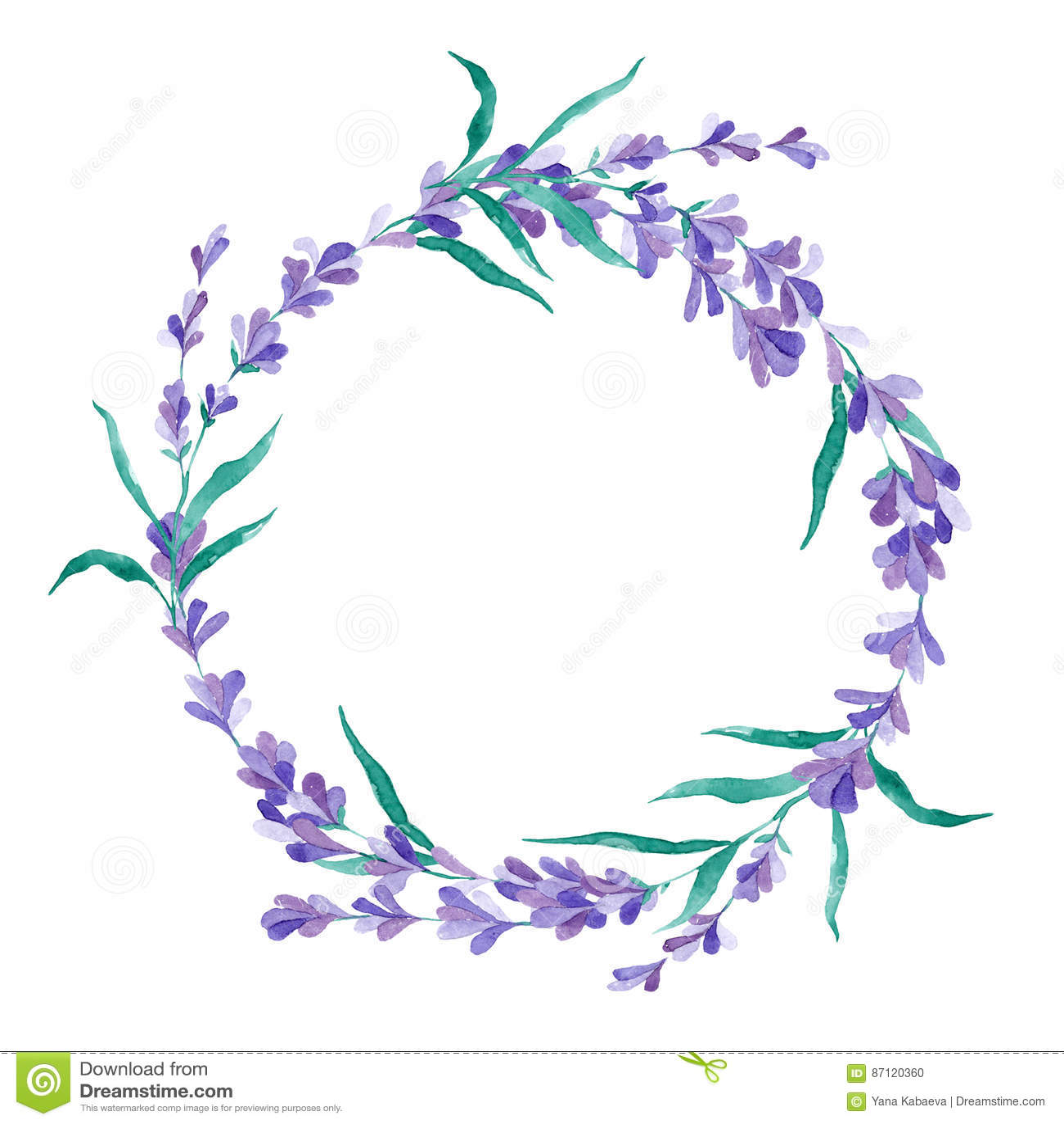 Lavendelkranz