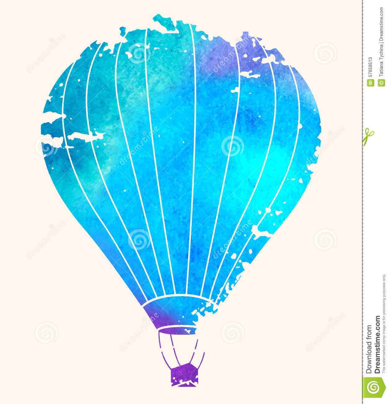 Flying A Hot-Air Balloon images