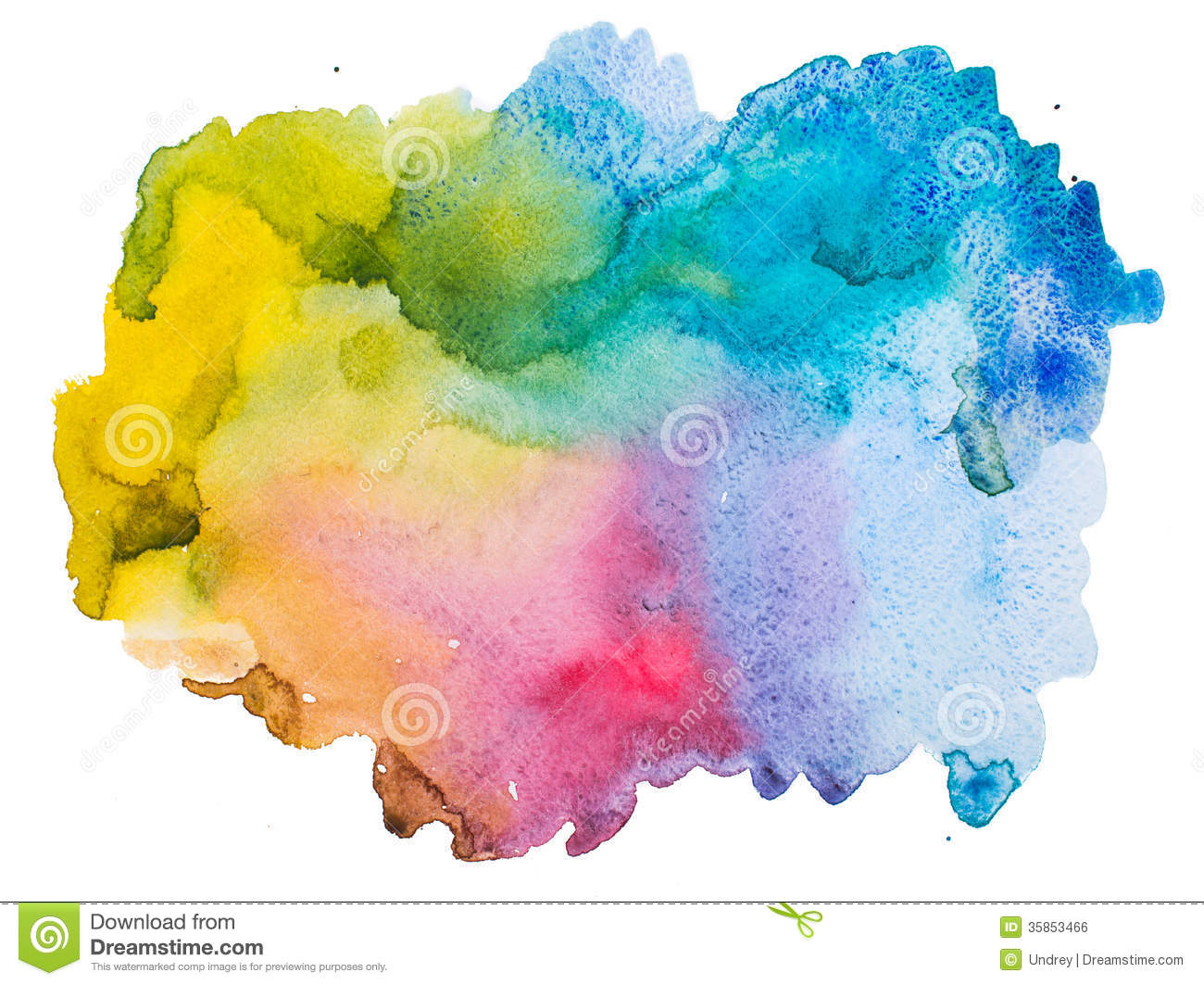 Watercolor splatter vector abstract watercolor background - Watercolour Abstract Background Royalty Free Stock Image