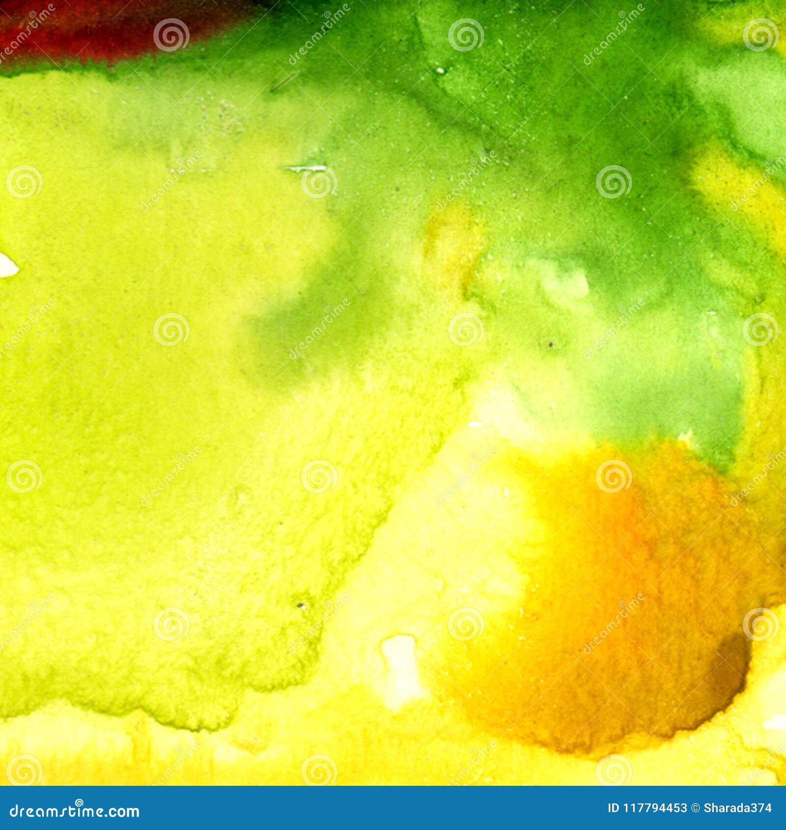 Watercolour splash background