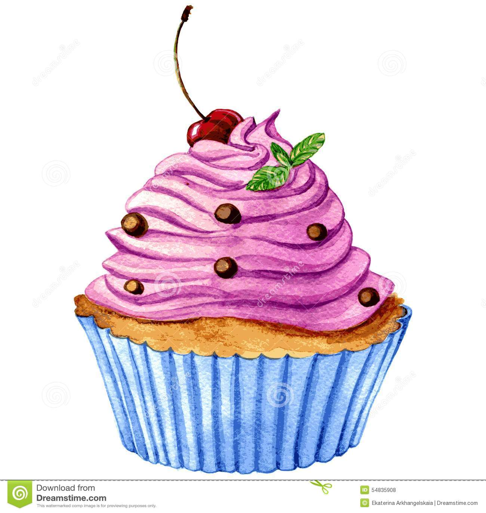 Hand Drawn Birthday Cake Vector