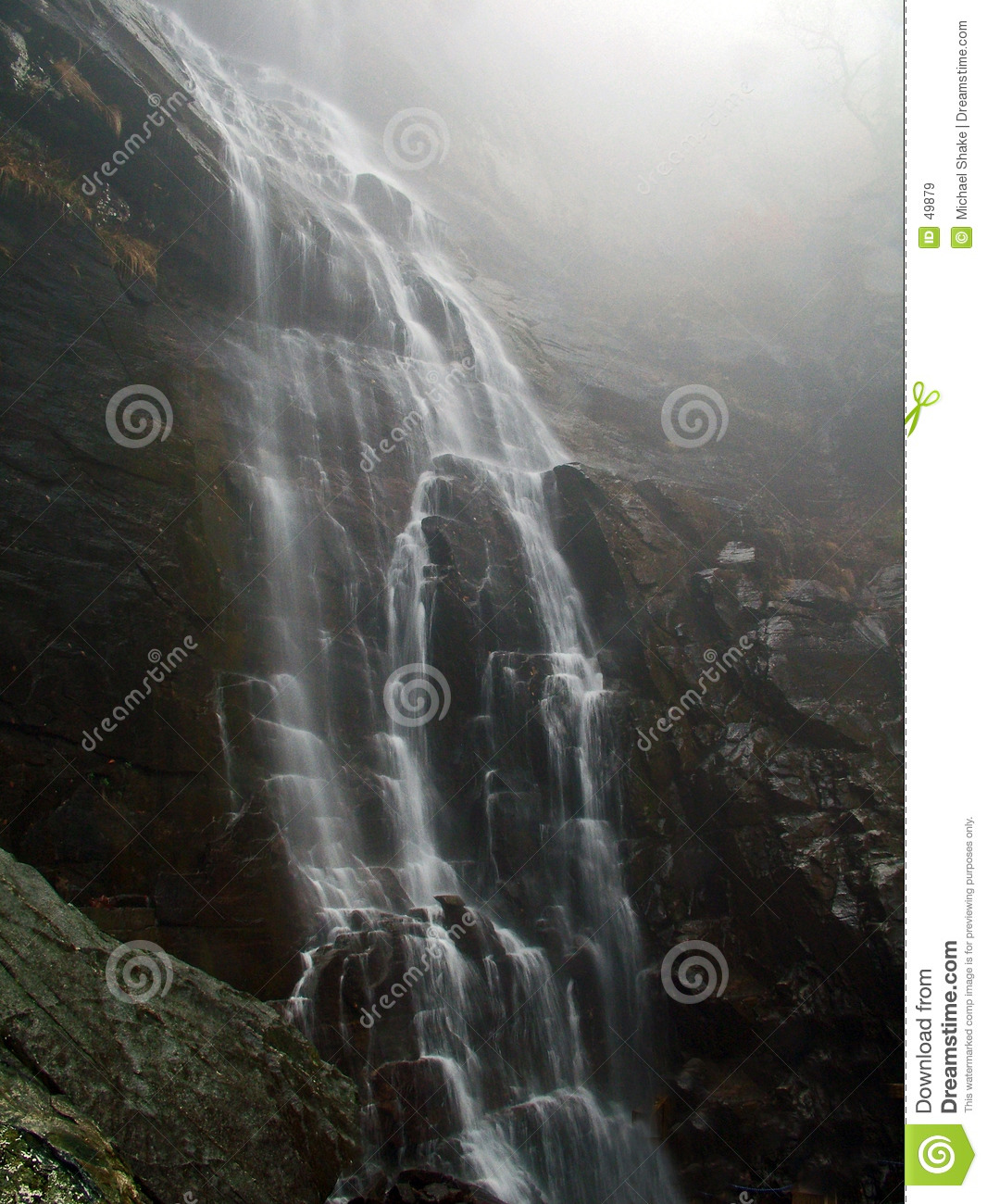 Download Waterfall stock image. Image of scenic, carolina, waterfalls - 49879