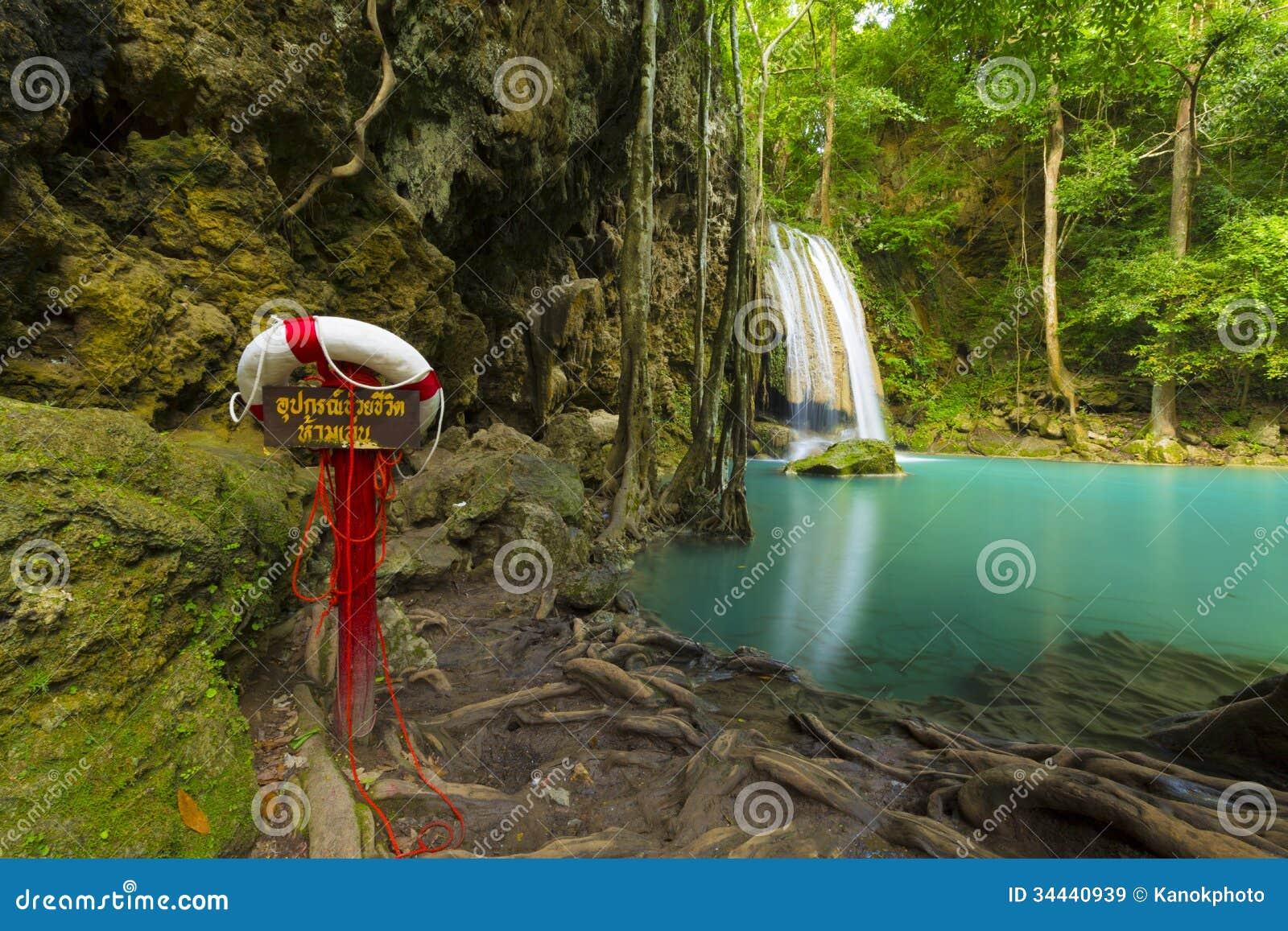 Beautiful waterfall in thailand s erawan waterfalls national park - 3d Tropical Rainforest Waterfall Hot Girls Wallpaper