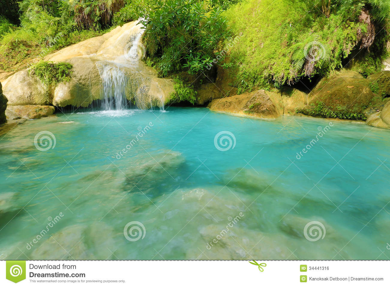 Beautiful waterfall in thailand s erawan waterfalls national park - Waterfall In Forest Download Free Stock Image Male