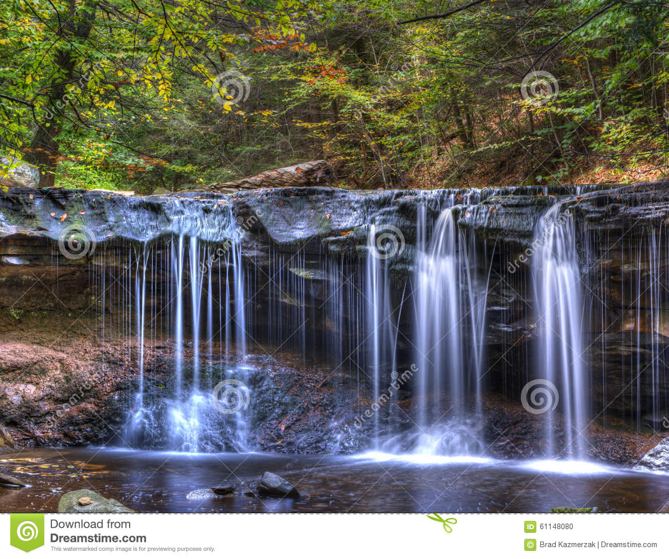Waterfall Stock Photo Image Of Heaven Flow Color