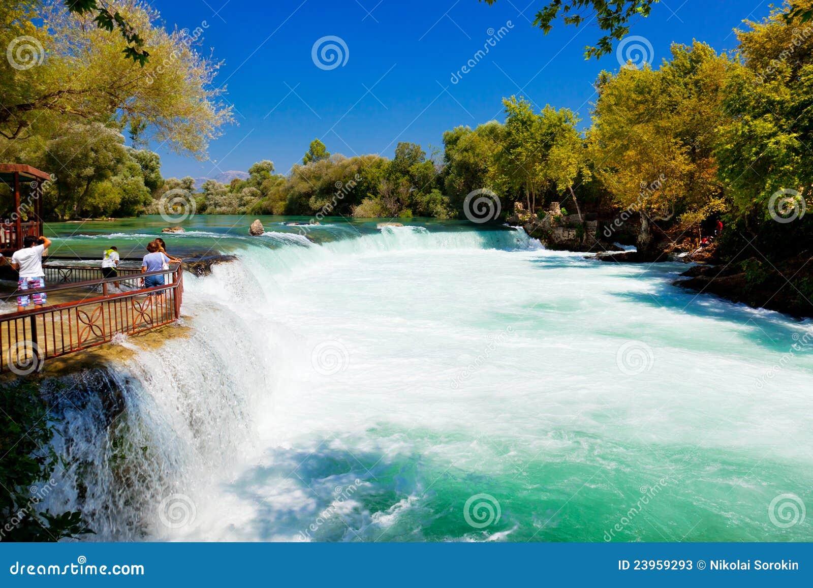 Manavgat Turkey  city images : waterfall manavgat turkey 23959293