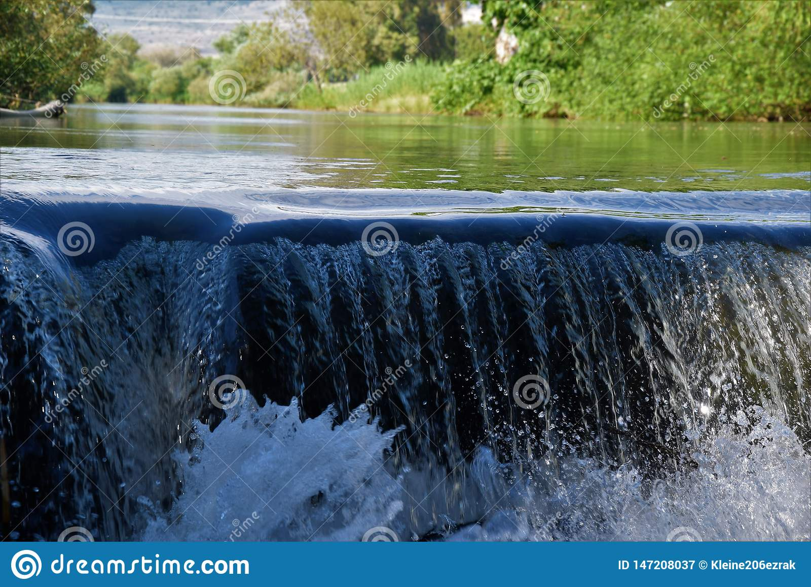 Waterfall North Israel