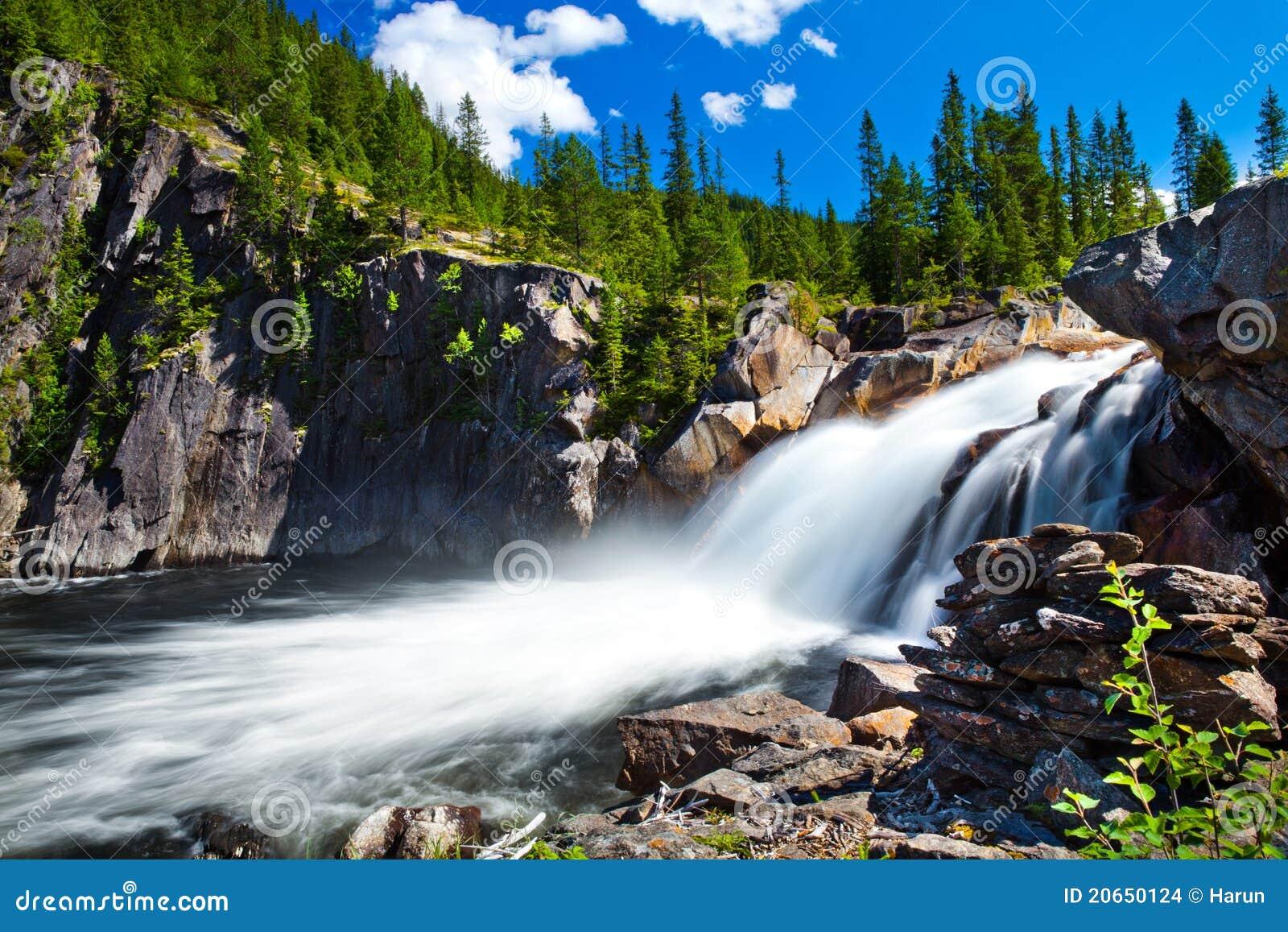 Waterfall of Norway