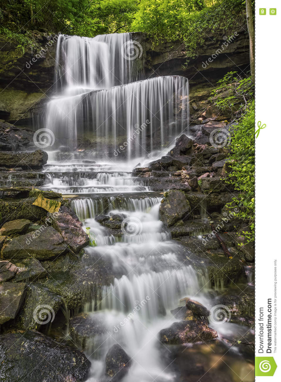 Waterfall at West Milton