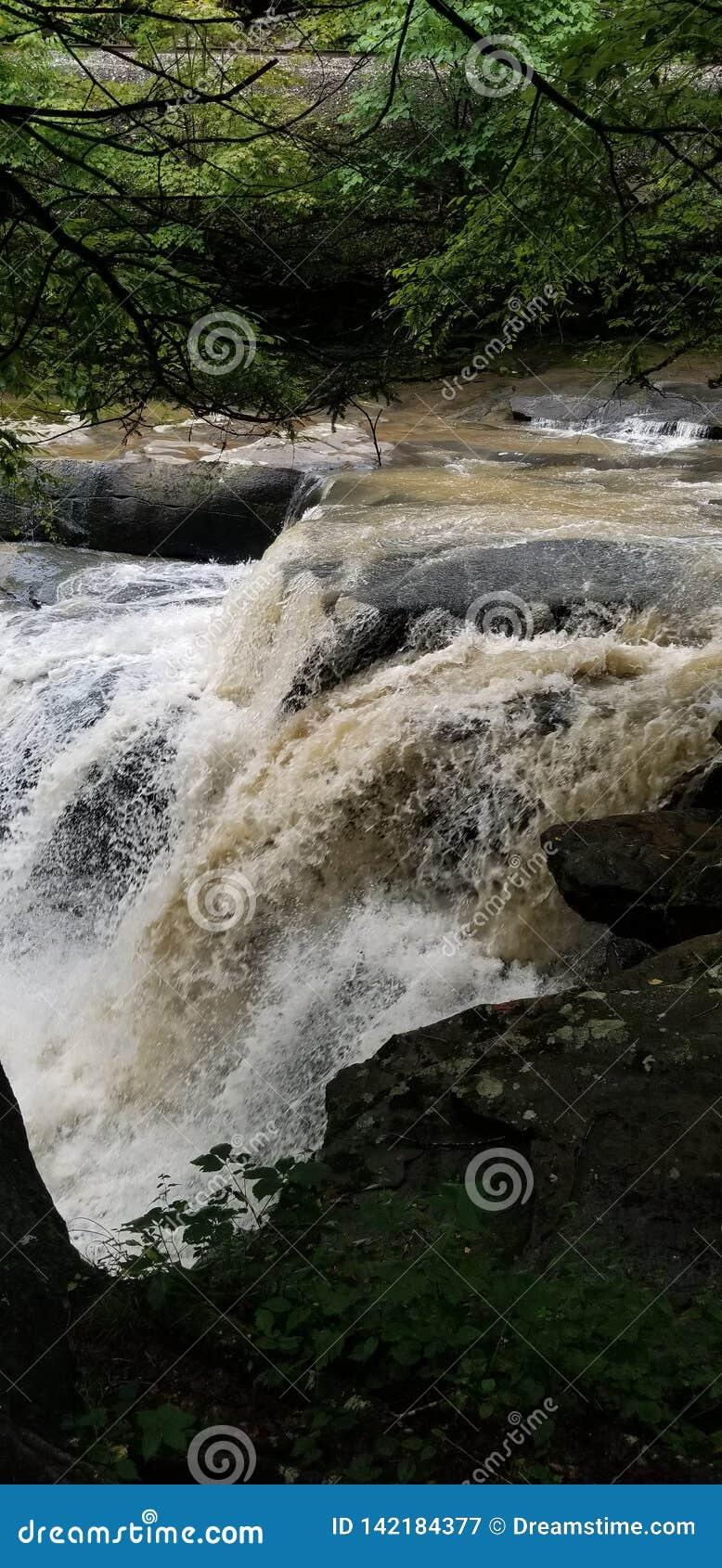 Waterfall in west Virginia wild wonderful