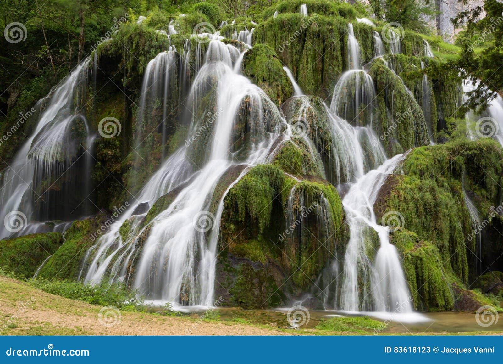 Waterfalls of Baume-Les-Messieurs - Jura - France