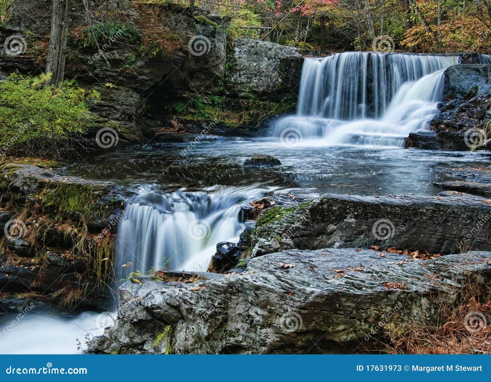 Waterfalls In The Poconos Stock Photos - Image: 17631973