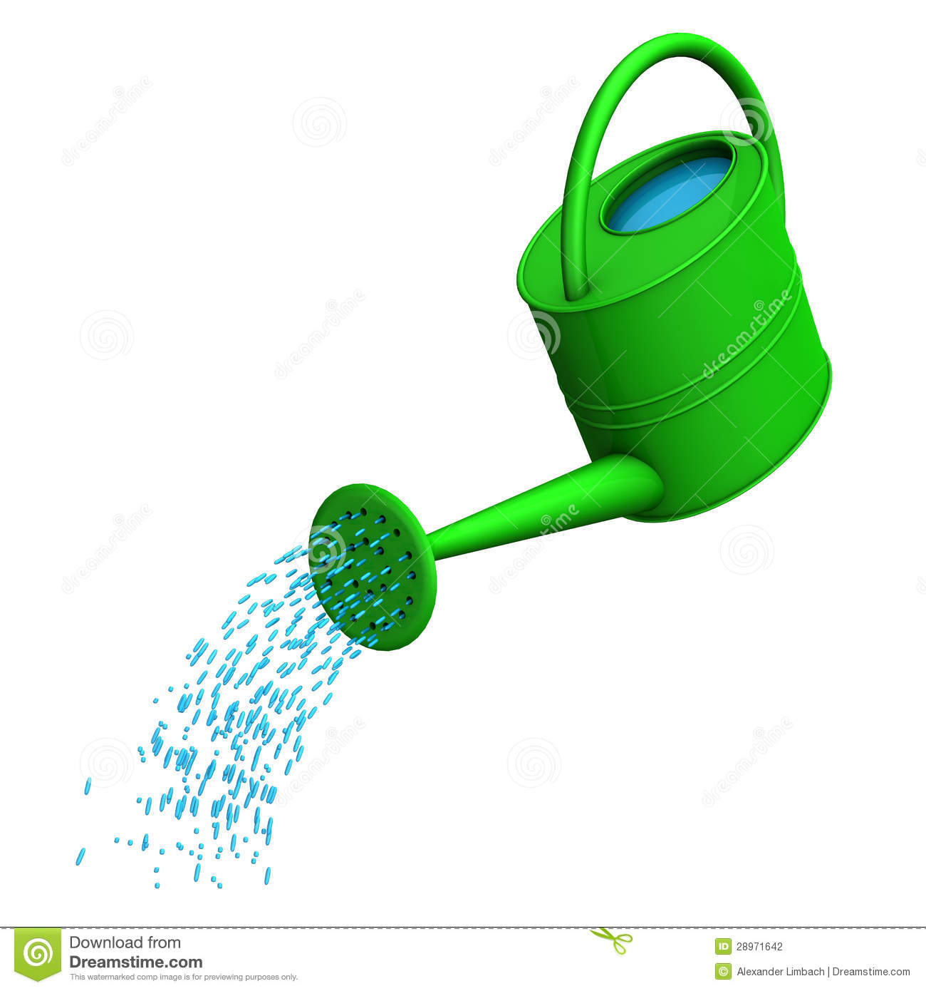 Watering Can Stock Photography Image 28971642
