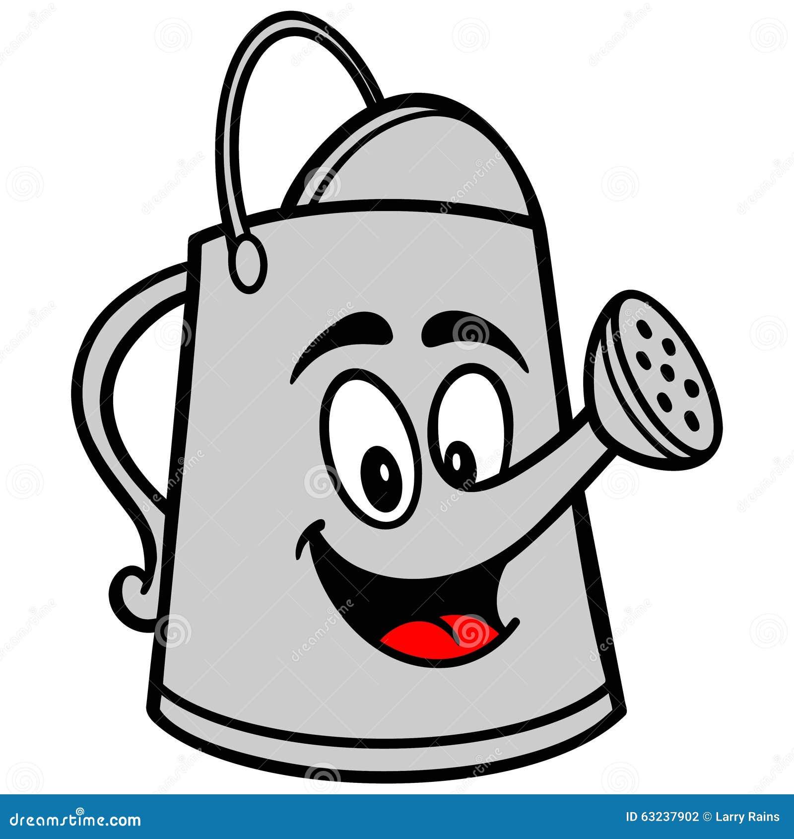 Watering Can Cartoon Stock Vector - Image: 63237902