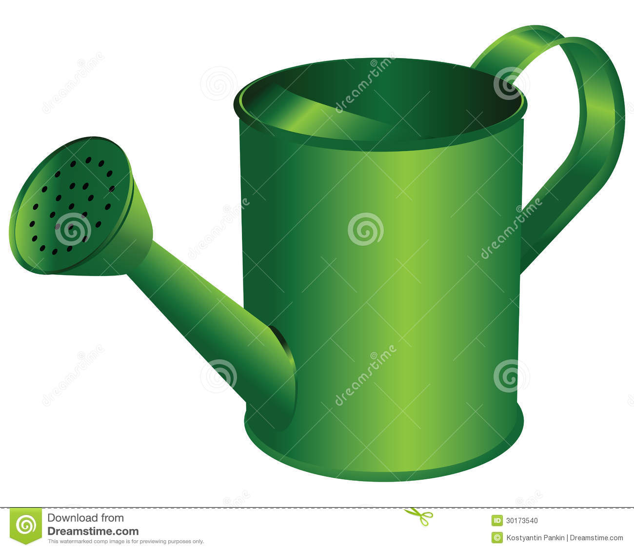 Watering Can Stock Photo Image 30173540