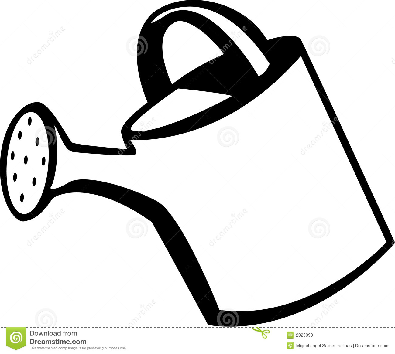Watering Can Vector Illustration Royalty Free Stock Photos - Image ...