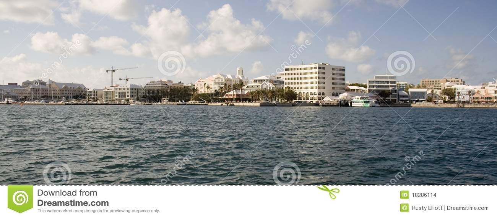 Waterkant de Bermudas