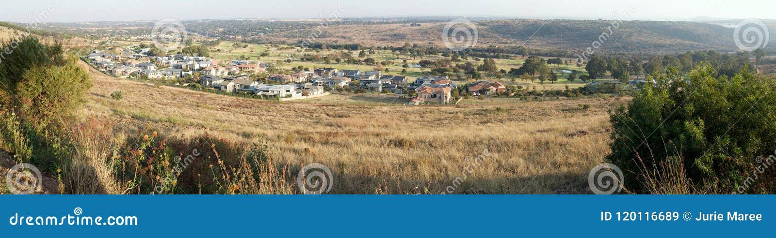 Waterkloof y su campo de golf, Pretoria, Suráfrica