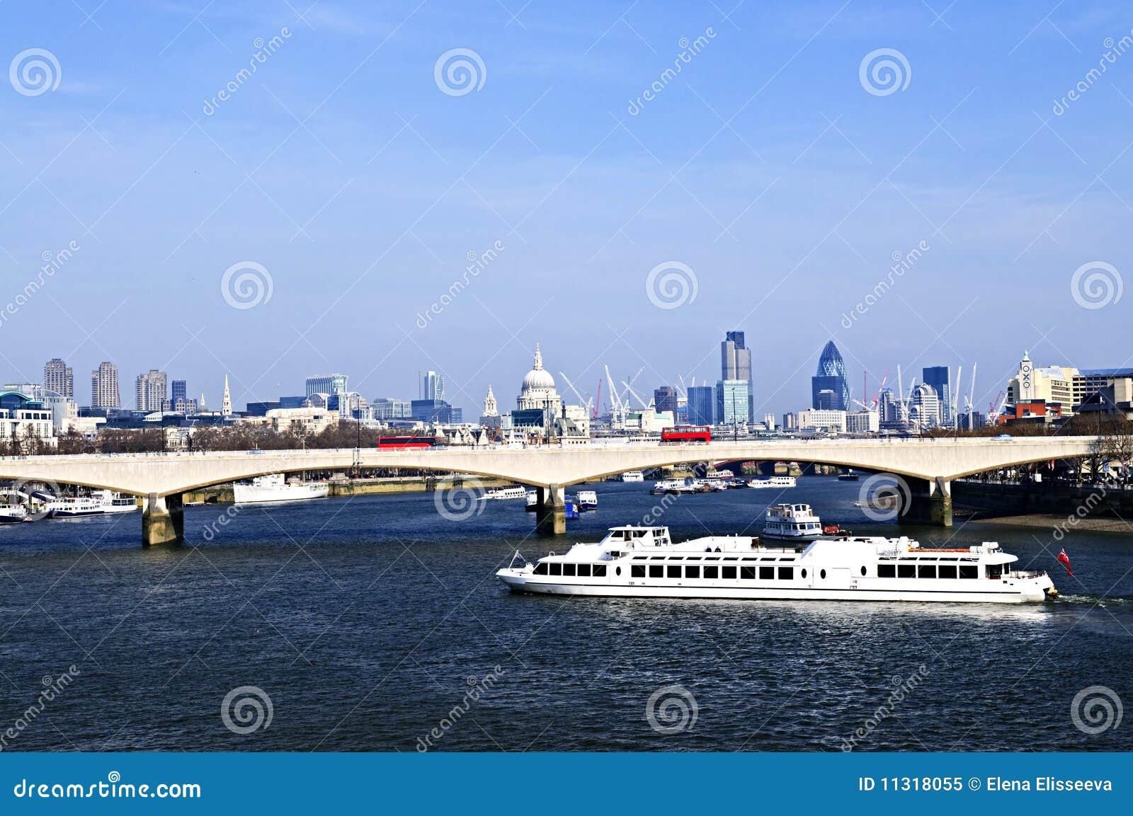 Waterloo-Brücke in London