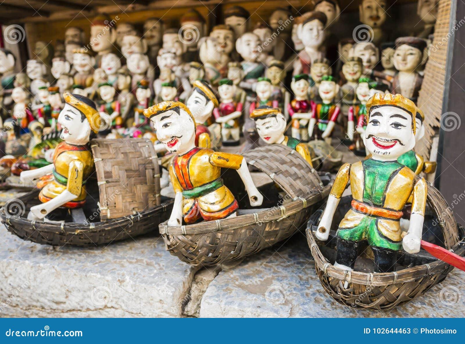 Watermarionetten in Hanoi, Vietnam