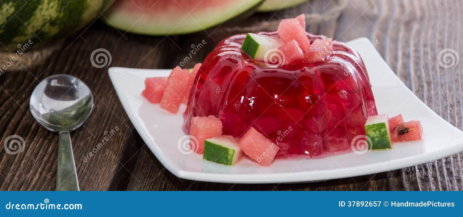 Watermeloen Jello