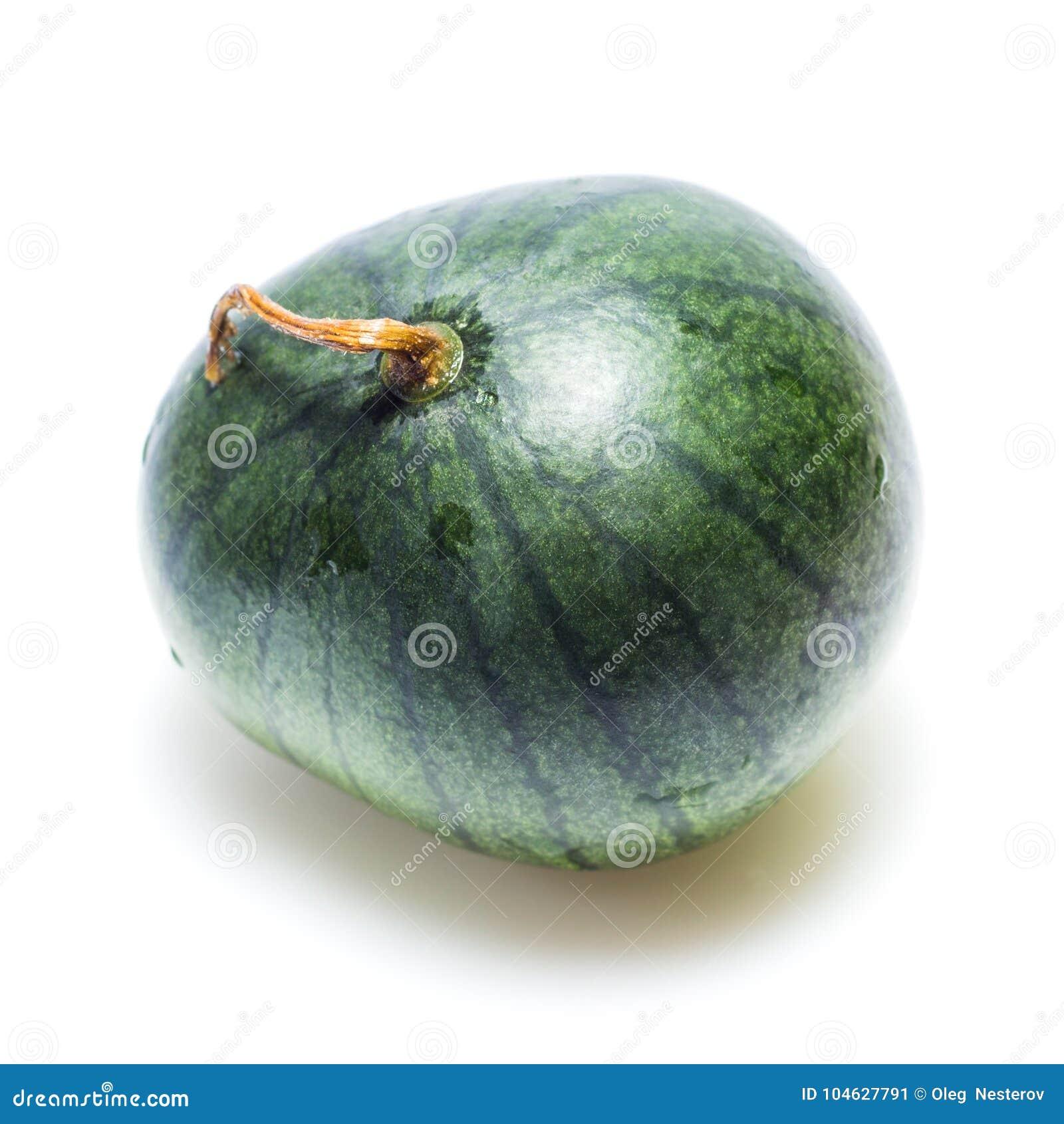 Download Watermeloen Met Dalingen Van Water Op Een Witte Achtergrond Stock Afbeelding - Afbeelding bestaande uit staart, achtergrond: 104627791