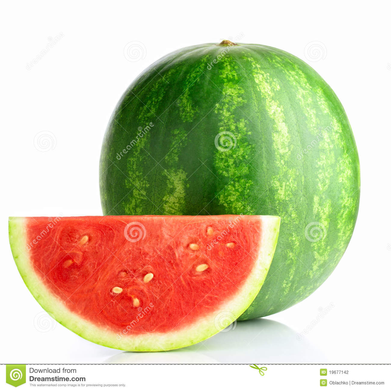 Download Watermelon stock photo. Image of isolated, nutrient, peel - 19677142