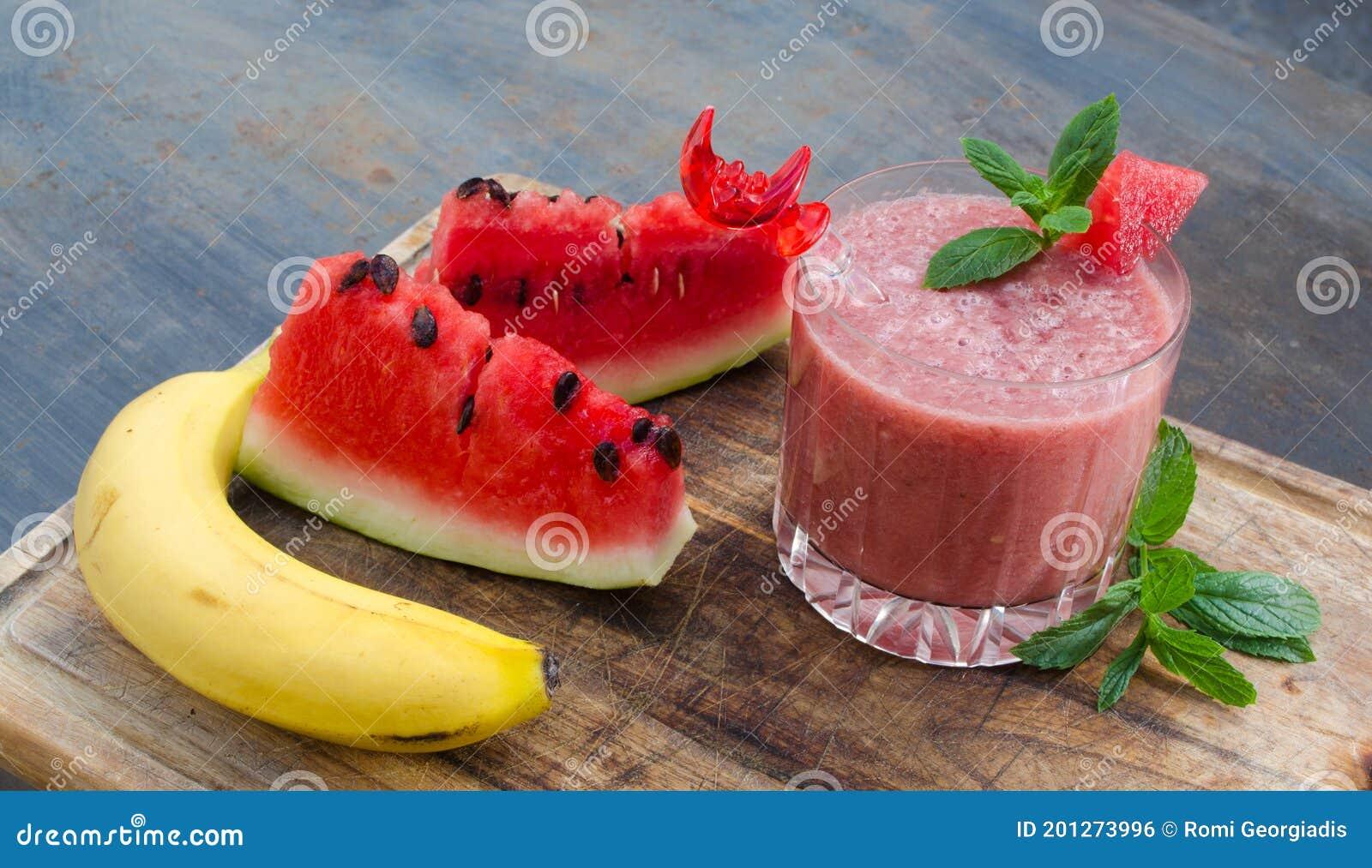 smoothie melon banana menthe)